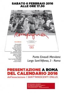 Presentazione calendario 2106 Roma